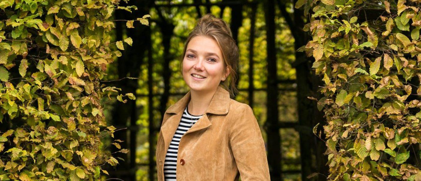 Groningen Prinsentuin Portret Lyse Koldijk